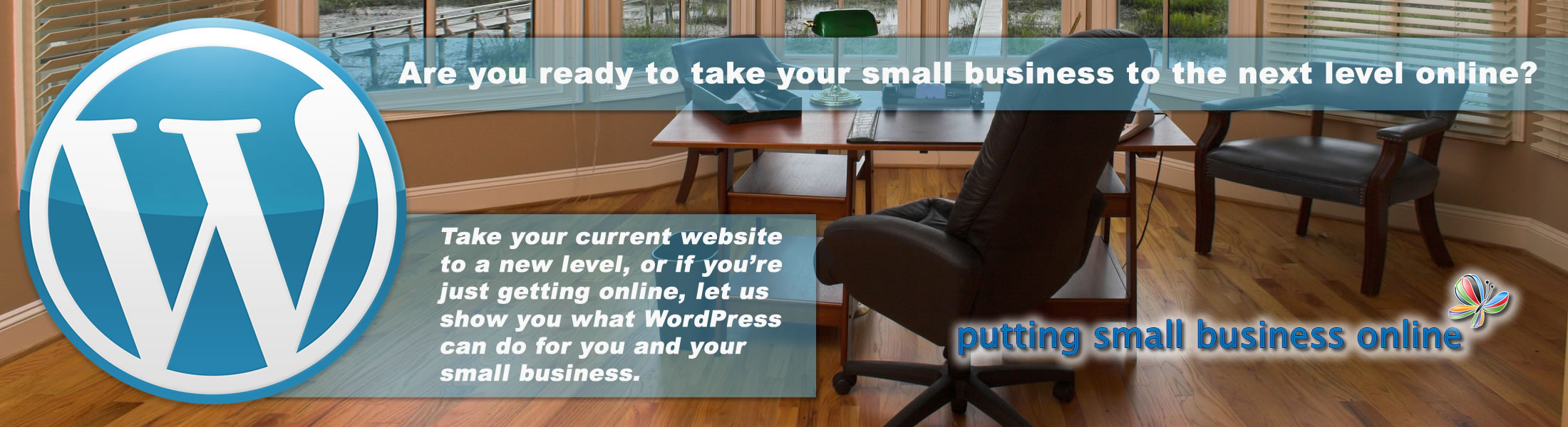 Let us put your small business online.